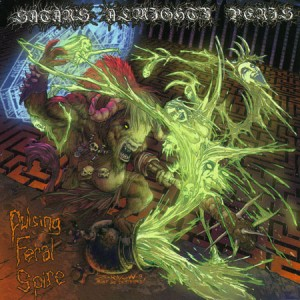 "Satan's Almighty Penis ""Pulsing Feral Spire"" (USA) CD"