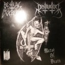 "Bestial Mockery_Destruktor ""Metal Of Death"" Limited 10""Ep"